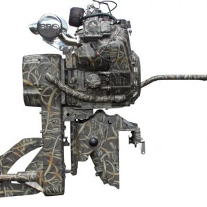 Mud Buddy Outboards - 4400 Black Death HDR
