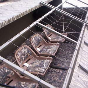 Gator Trax Boats Gator Camp Blind Flip Panels